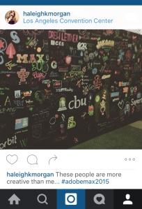 Adobe Max design wall