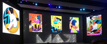 Adobe MAX stage